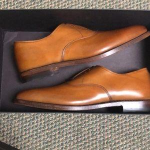 Allen Edmonds Men's Carlyle Walnut Size 8.5 NIB